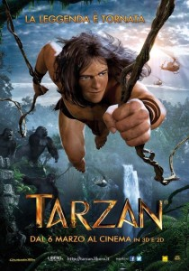 Poster del film Tarzan in 3D