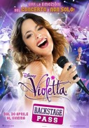 Poster del film Violetta - Backstage Pass