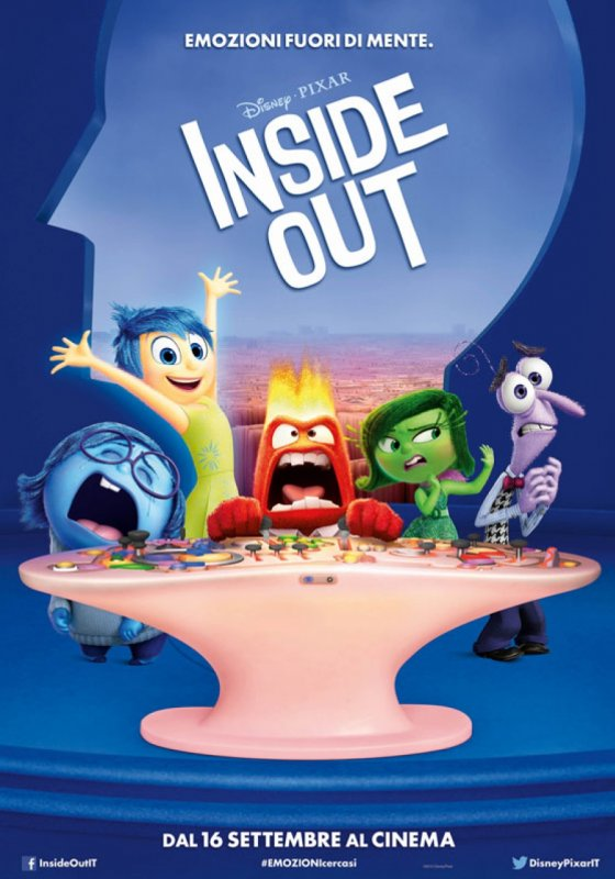 Poster del film Inside Out in 3D