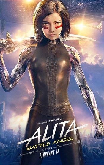 Poster film Cinema in Lingua | Alita: Battle Angel